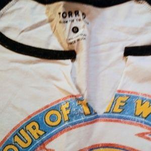 torrid Tops - Torrid Van Halen t shirt